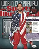 Autographed Clint Dempsey Photograph - Team Usa Captain 2014 Si Cover 8x10 Coa D - JSA Certified - Autographed Soccer Photos
