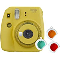 Fujifilm Instax Mini 9 met 3 Kleurfilters