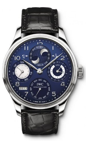 Iwc Portuguese Perpetual Calendar Watch IW503203 (Iwc Power Reserve)