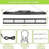 Full Spectrum LED Grow Light - AGLEX Newest G220W