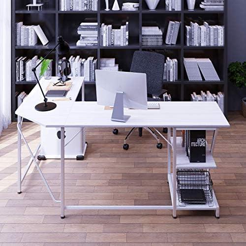 NOXU L Shaped Desk