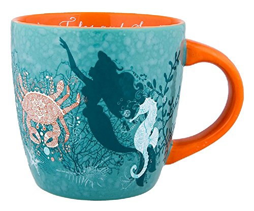 Disney Parks Little Mermaid Ariel Nautical Mug