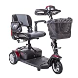 Drive Medical Spitfire132016fs21 Spitfire Ex Travel 3-Wheel Mobility Scooter, 21 Inch