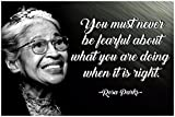 Best History Posters - Rosa Parks Poster African American Wall Art Womens Review