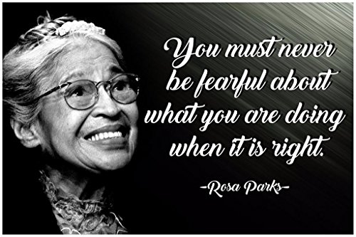 (Rosa Parks Quote Posters Black History Month African American Wall Art Womens History Month Poster African Empowered Women Empower Well Behaved Women Rarely Make History Bad Girls Throughout)