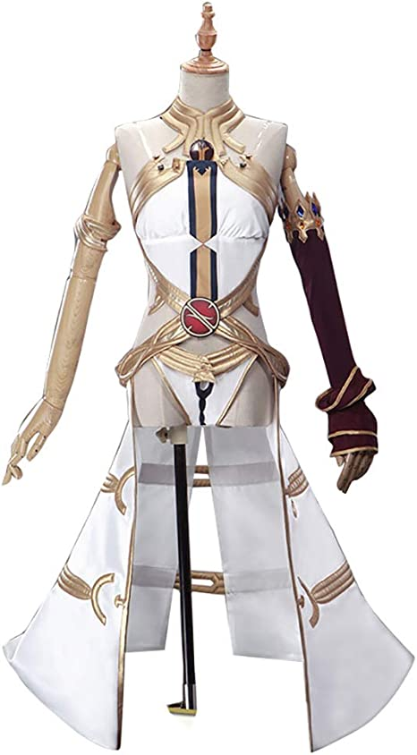 LJLis Fate FGO Disfraz De Cosplay De Anime Japonés Falda De Vestir ...