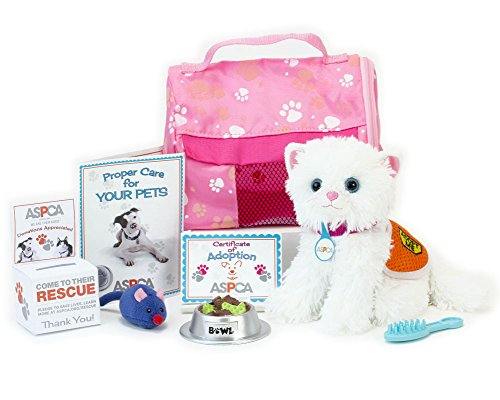 ASPCA¨ Adopt-A-Pet Kitten Set. Doll Pets, Complete 11 Piece ASPCA¨ Kitten Set Perfect for your 18 Inch American