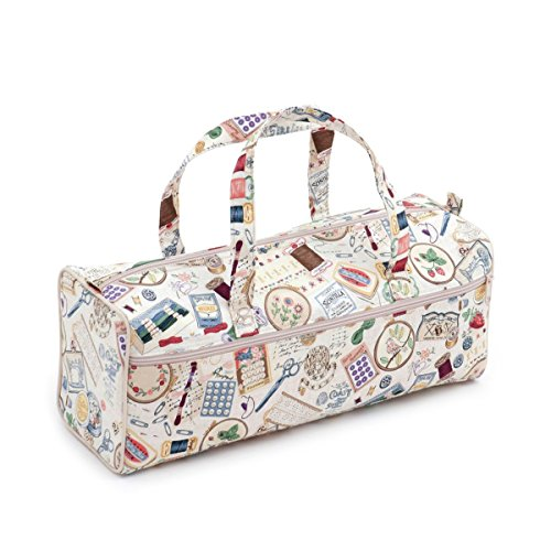 Hobby Gift 'Sewing Notions' Knitting Bag 15 x 45 x 17cm (d/w/h) - Gift Baskets For Knitters