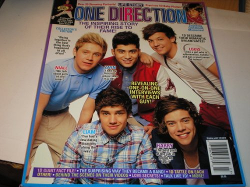 ONE Direction Life Story the Inspiring Story of Their Rise to Fame