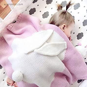 Saco de Dormir reci/én Nacido ni/ño ni/ña Linda Manta de Lana Envuelta Adecuada para 0-12 Meses beb/é Beige Modelado de Osito