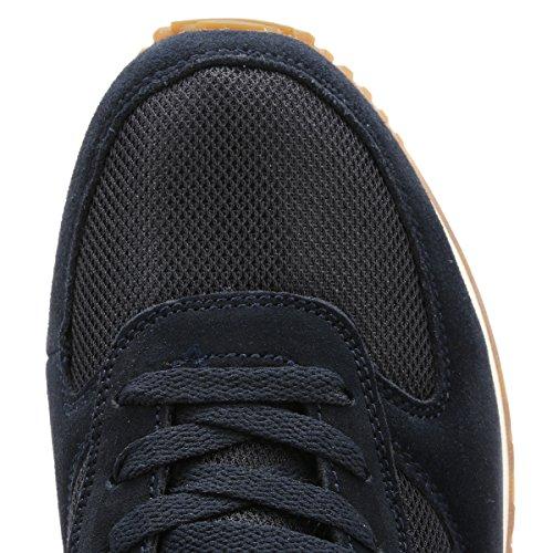 Ellesse Hombres Azul Marino/Gum LS110 Zapatillas