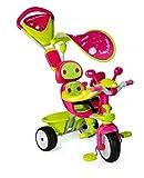 Smoby 434118 - 4-in-1 Dreirad Baby Driver Komfort Girl