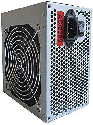 Hiditec SX 500W - Fuente de alimentación (500 W, 115-230 V, 50-60 ...