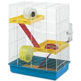 Ferplast Hamster Tris Cage With Accessories (One Size) (Multicolored)