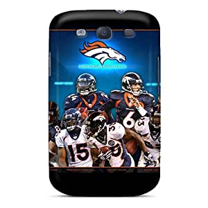 ErleneRobinson Samsung Galaxy S3 Shock Absorbent Hard Cell-phone Cases Allow Personal Design Realistic Denver Broncos Skin [BxW14616rzuh]