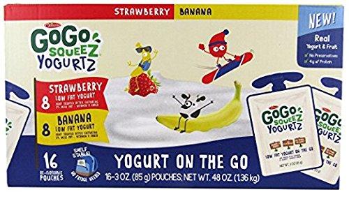 Expert choice for go go squeeze yogurt