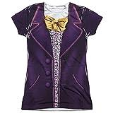 Willy Wonka & The Chocolate Factory Wonka Costume Juniors T-Shirt Medium offers