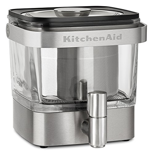 Ice Coffee - KitchenAid KCM4212SX Cold Brew Coffee Maker, Brushed Stainless Steel
