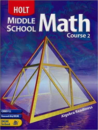 Holt Middle School Math Course 2, Grade 7 Student Textbook: Jennie ...
