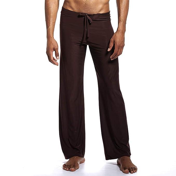 Amazon.com: Pantalones de hombre de seda para chico ...