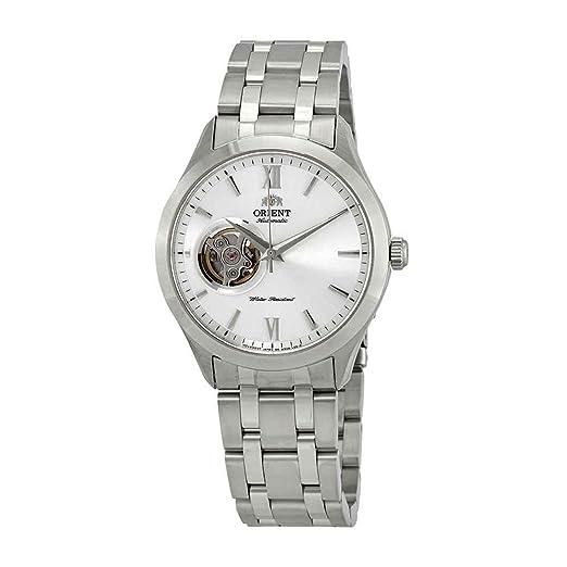 Orient Reloj Analógico para Hombre de Automático con Correa en Acero Inoxidable FAG03001W0: Amazon.es: Relojes