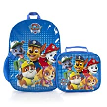 Paw Patrol 16 inch Backpack with Lunch Bag Kit