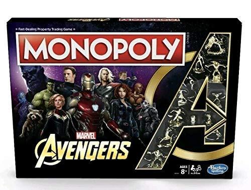 (Hasbro Gaming Monopoly Avengers)