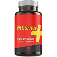 Fitburner+ | Brûleur de Graisse Puissant | Perte de Poids Efficace et Naturelle | Coupe-faim avec 14 Ingrédients Actifs qui aident à brûler la graisse | 90 Capsules Végétales