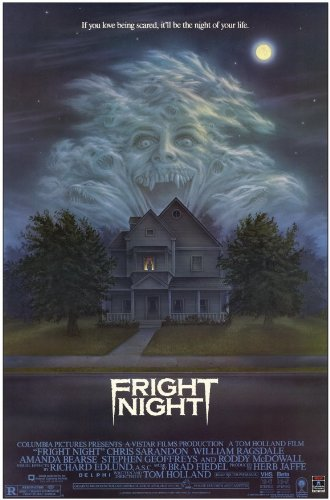Fright Night Poster Movie 11x17 William Ragsdale Chris Sarandon Amanda Bearse Roddy McDowall