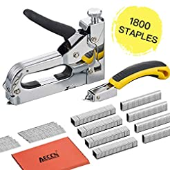 Staple Gun with Remover - 3 in 1 Heavy D...