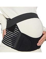 NeoTech Care Pregnancy Support Maternity Belt, Waist/Back/Abdomen Band, Belly Brace, Black, Size XXL