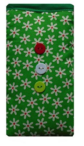 Fleurs vertes iPhone 6s Sock / pochette / Case
