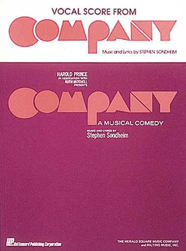 Company : A Musical Comedy (Vocal Score) by Hal Leonard