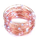 String Lights,Oak Leaf 2 Set of 4.9 Feet Cool White Micro 30 LED String Starry Lights for DIY,Home,Party,Wedding Centerpiece or Table,CR2032 Batteries