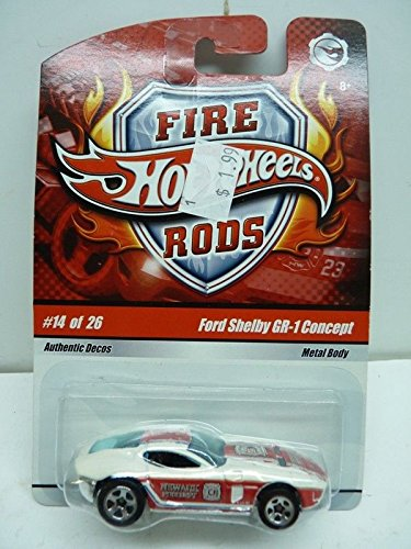 Hot Wheels Fire Rods Ford Shelby GR-1 Concept Car 14 of 26 Hot Wheels Fire Rods