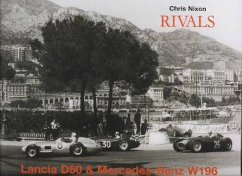 Rivals Lancia D50 and Mercedes W196