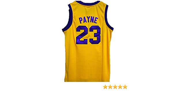 5de6fb2fac5 Amazon.com  Martin Payne  23 Basketball Jersey Martin Lawrence TV Show  Costume Team Series  Clothing