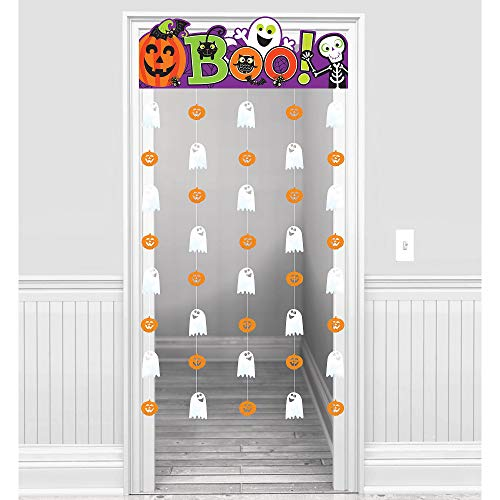 Amscan Cute Halloween Doorway Curtain, Features a