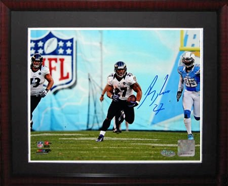 (Ray Rice Signed Steiner Framed Photo-16x20)