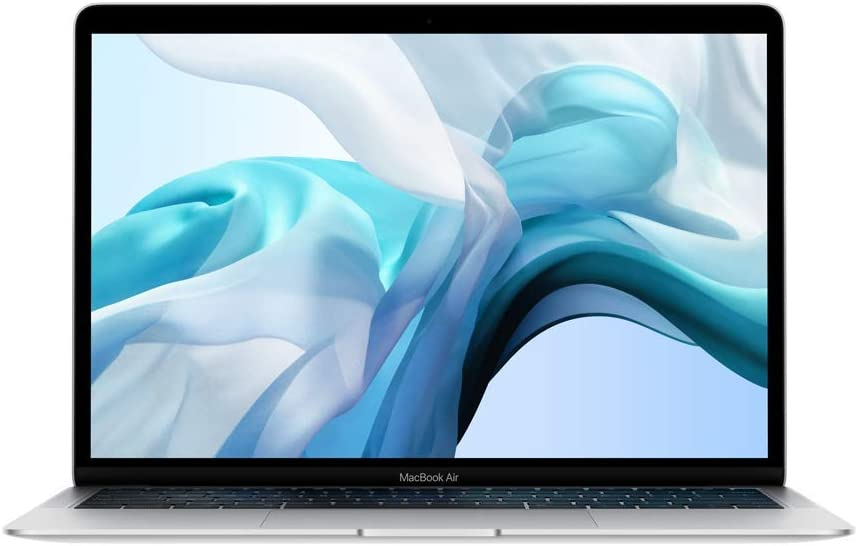 Apple MacBook Air (13-inch, 8GB RAM, 128GB Storage, 1.6GHz Intel Core i5) - Silver (Previous Model)