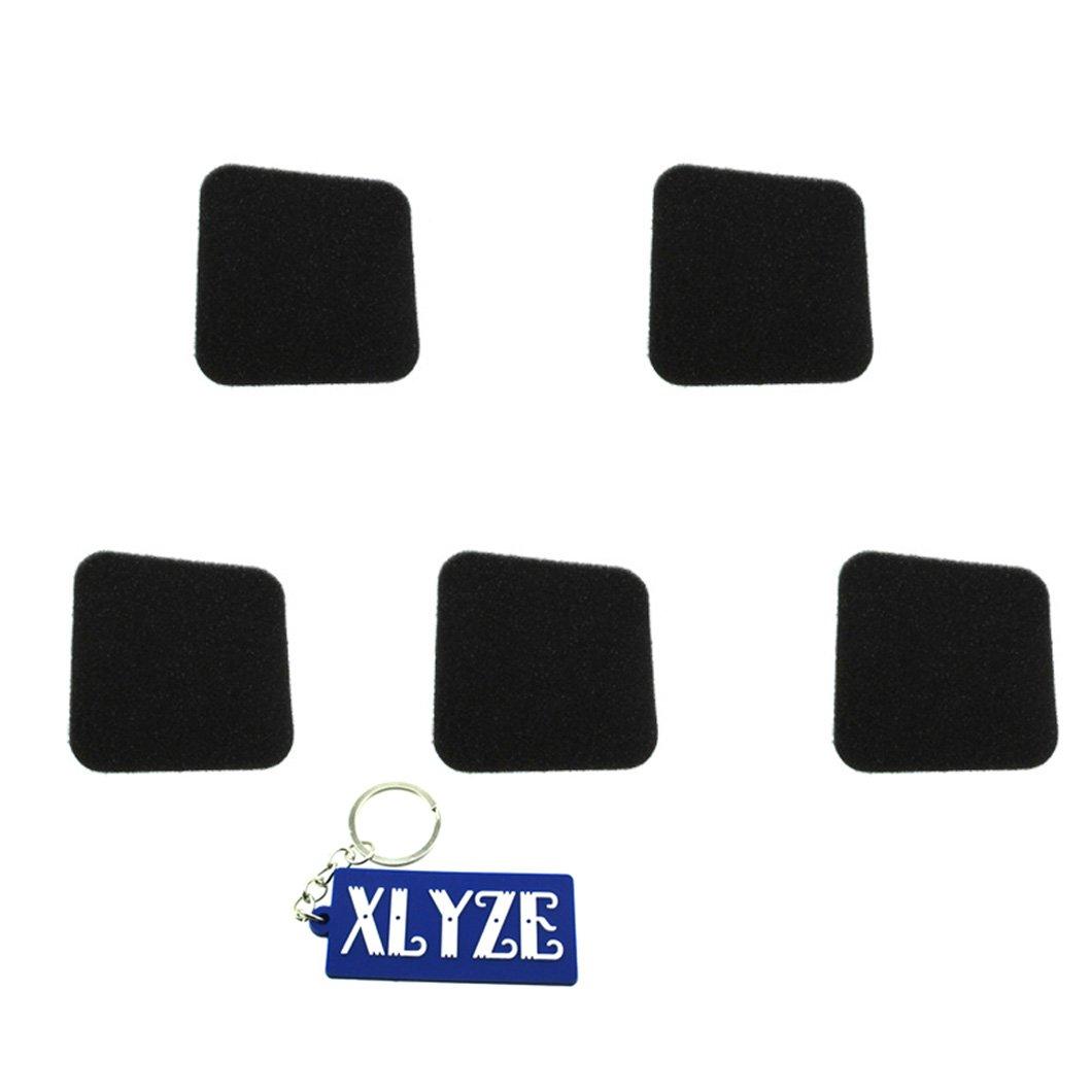 XLYZE pre filtro de aire 5pcs para Stihl 4228 124 1500 FC55 FS38 FS45 FS46 FS55 HL45 HS45 KM55 cortasetos