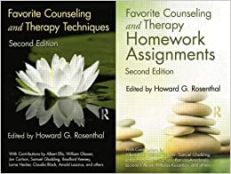 Book Favorite Counseling and Therapy Techniques & Homework Assignments Package by Howard G. Rosenthal (2011-02-17)