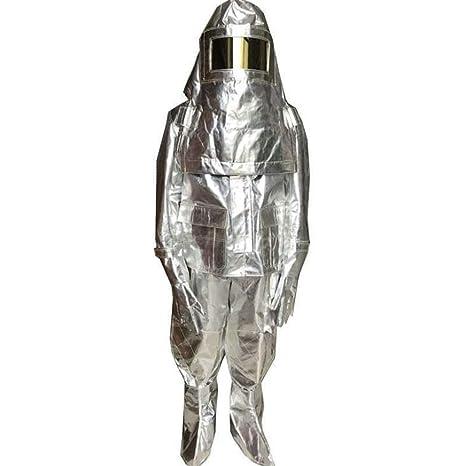 KLGU Ropa de protección química con Traje de Aislamiento de ...