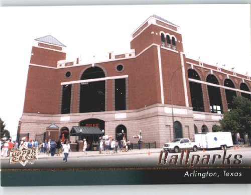 2010 Upper Deck #568 Rangers Ballpark in Arlington (Ball Parks) Texas Rangers - Baseball Card Shipped In Protective Screwdown Display Case! - Ballpark Texas Rangers Arlington
