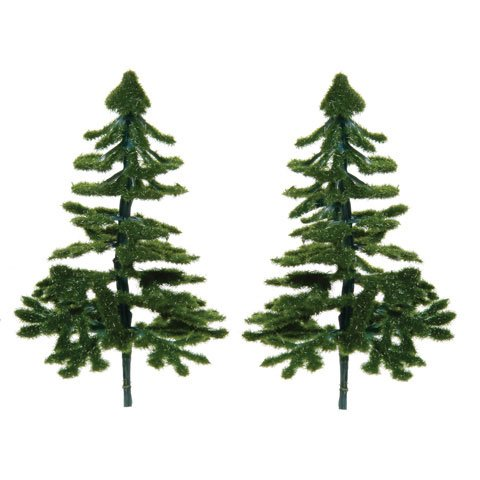 Darice Bulk Buy Crafts for Kids Diorama Tree Christmas Tree 3.5 inches 2 pieces (3-Pack) 3700-26
