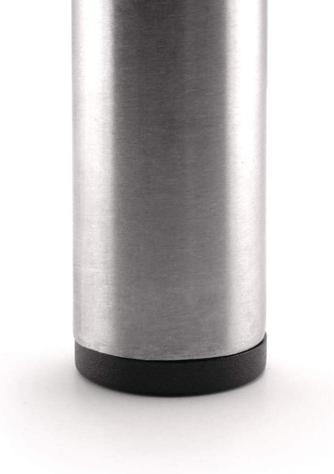 GLEITGUT Lot de 4 bouchons de tube int/érieur de 25,1 mm /à 26,5 mm Noir