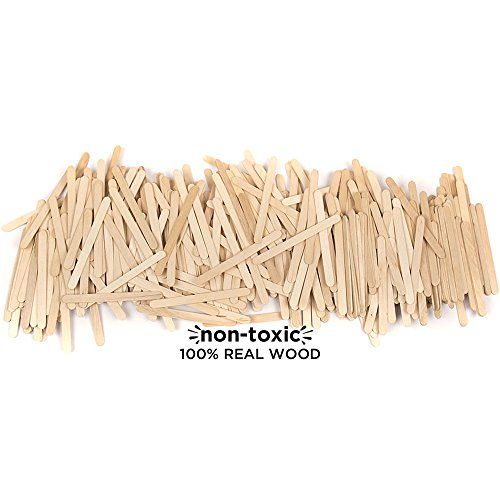 Horizon Group USA Classic Pine Wood Sticks for Craft, 4.5 inch (Pack of 1200), Assorted (Craft Wood Assorted)