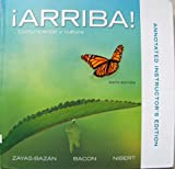 img - for Arriba Comunicacion Y Cultura 6th Edition: Annotated Instructor's Edition book / textbook / text book