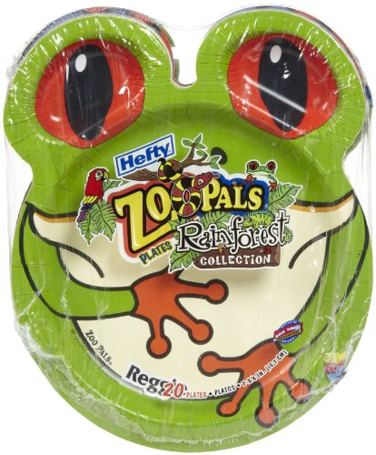 Hefty Zoo Pals Plates Discontinued by Manufacturer