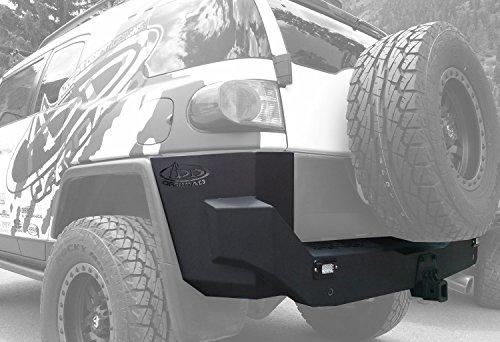 Aftermarket Cruiser Accessories Fj (Addictive Desert Designs R8017013401NA Stealth Fighter Rear Bumper for Toyota FJ Cruiser)
